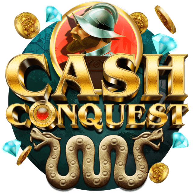 Cash Conquest Step online slots at Mr Spin online casino - iOS game grid
