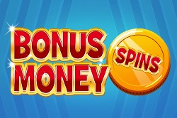 Bonus Money Spin online slots game grid image