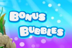 Bonus Bubbles mobile slots by Mr Spin