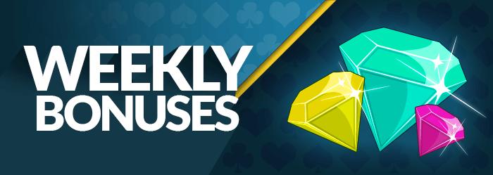 Casino weekly bonus
