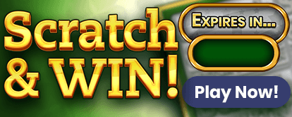 Scratch & Win mini game to get free spins in Mr Spin online casino - Play now
