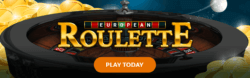 European Roulette mobile slots by Mr Spin
