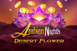 Arabian Nights Desert Flower mobile slots by Mr Spin