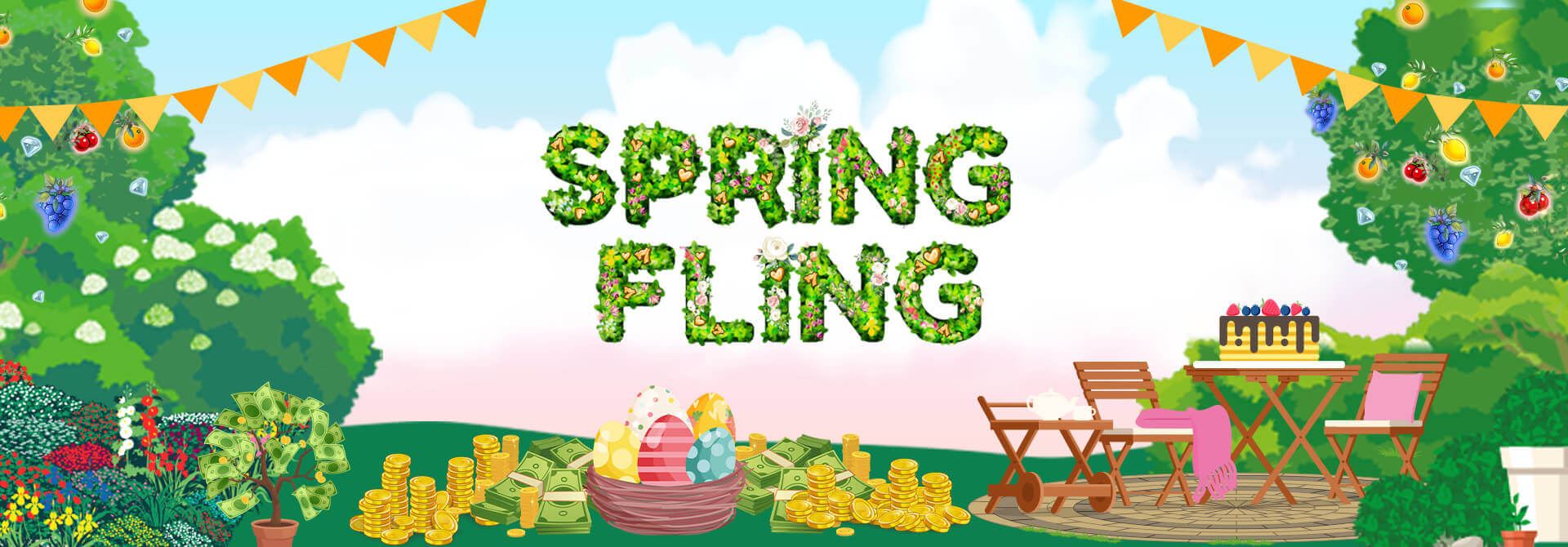 Did you share the love with Mr Spin's Easter Spring Fling?