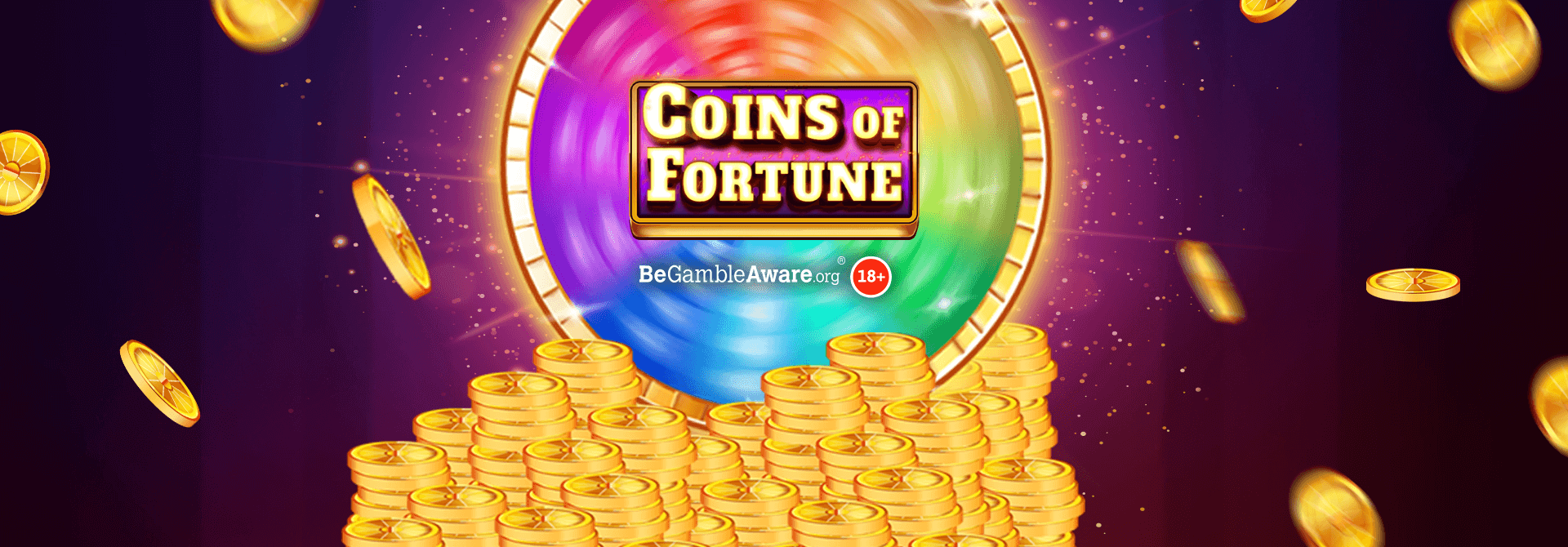 It's raining Coins of Fortune on the Mr Spin reels!