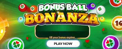 Bonus Ball Bonanza mini game - mFortune online casino