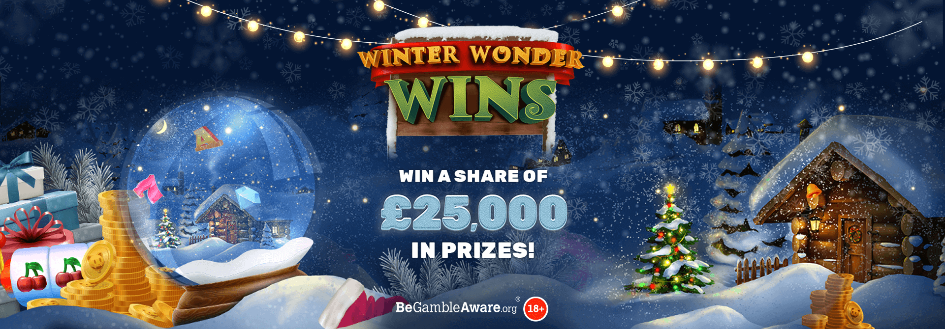 Were you able to pick up a Winter Wonder Win this season with Mr Spin casino?