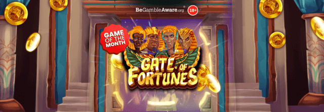 Step up to the Gate of Fortunes at Mr Spin's online casino!