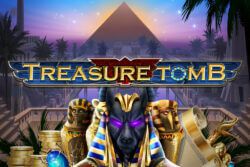 Treasure Tomb mobile slots by Mr Spin