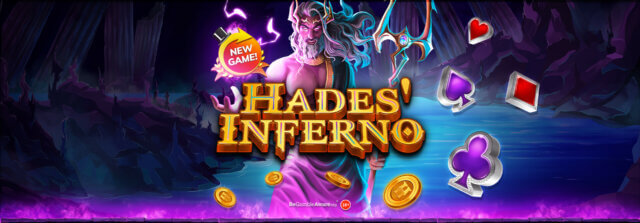 Descend into the depths of the dead on Hades' Inferno online slots