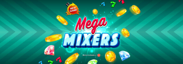 Will you be dazzled by diamonds in the new Mega Mixers online slots game?