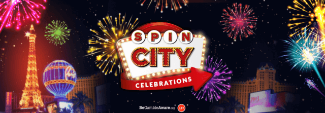 Join the party and win a share of 25,000 Free Spins* for Mr Spin's birthday!