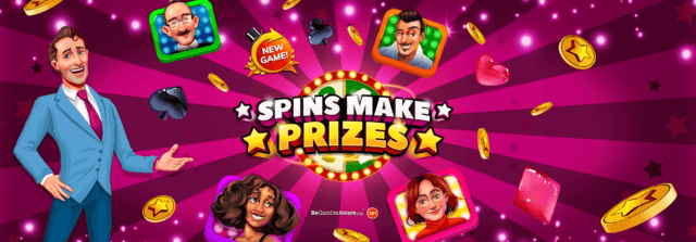 Take your place on the podium for Spins Make Prizes!