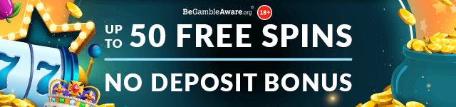 Up to 50 Free Spins No Deposit Bonus offered by Mr Spin Online Casino